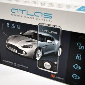 Zabezpečení Auta Atlas GSM Krabička