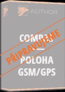 Compas poloha gps/gsm