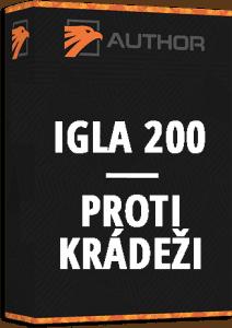 Zabezpečení vozu Igla 200