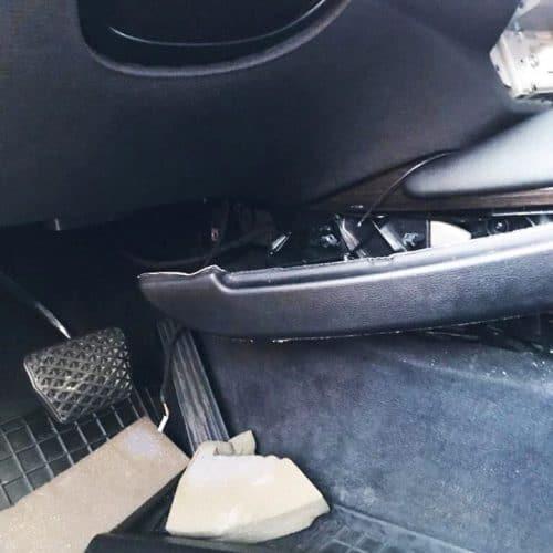 Interier Po Pokusu O Krádež BMWx6